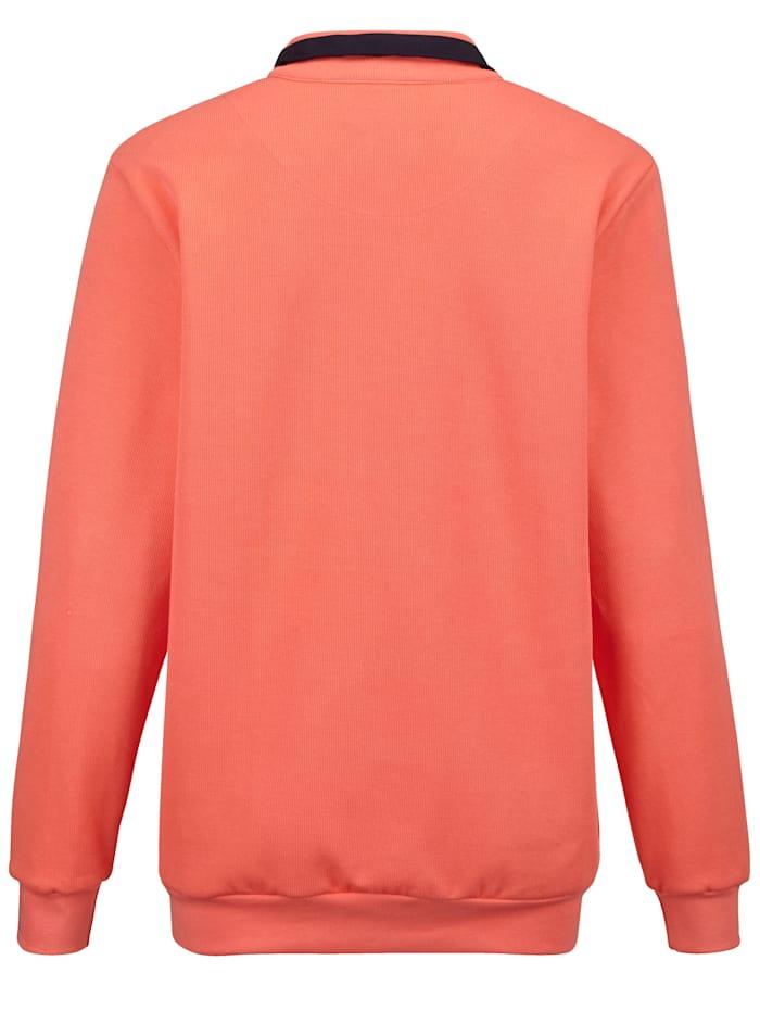 Sweatshirt mit vielen aufwändigen Details