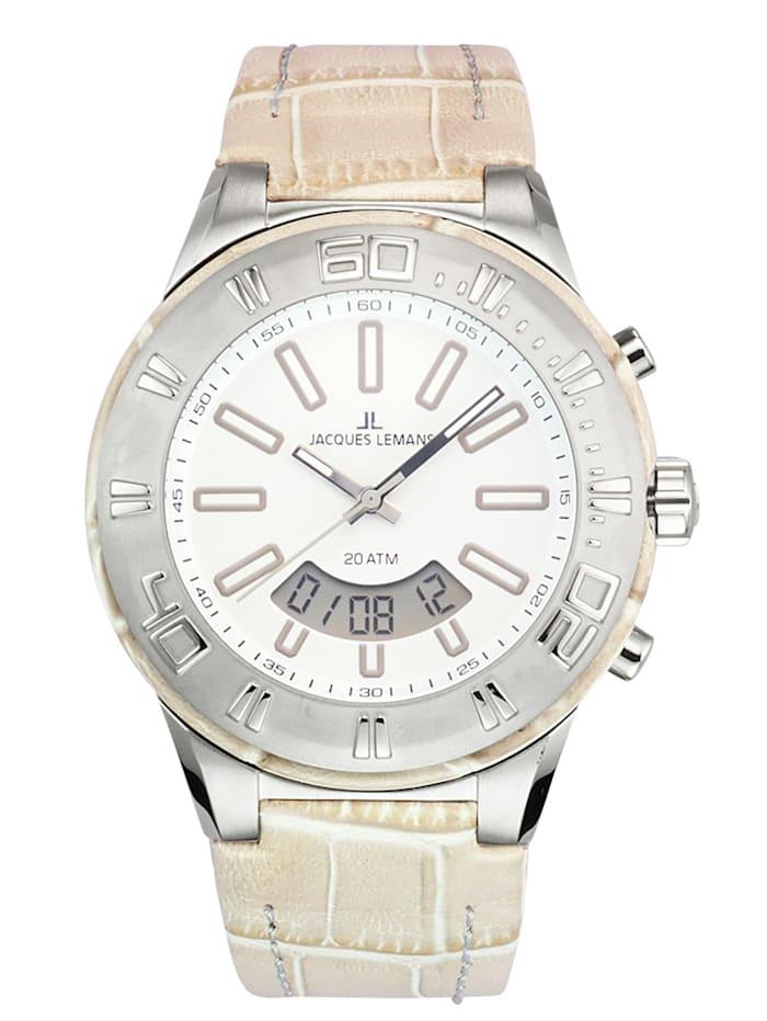 Jacques Lemans Horloge 1-1772C, Beige