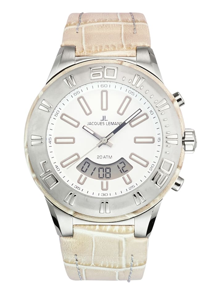 Jacques Lemans Unisex hodinky 1-1772C, Béžová
