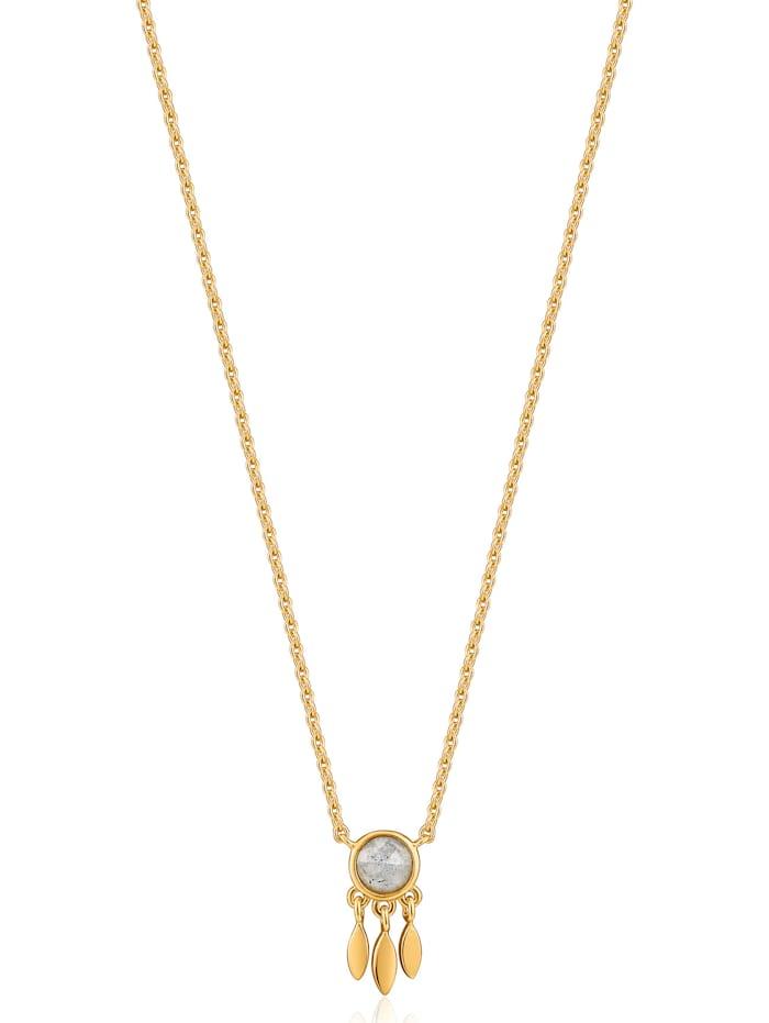 Ania Haie Ania Haie Damen-Kette 925er Silber Zirkonia, gold