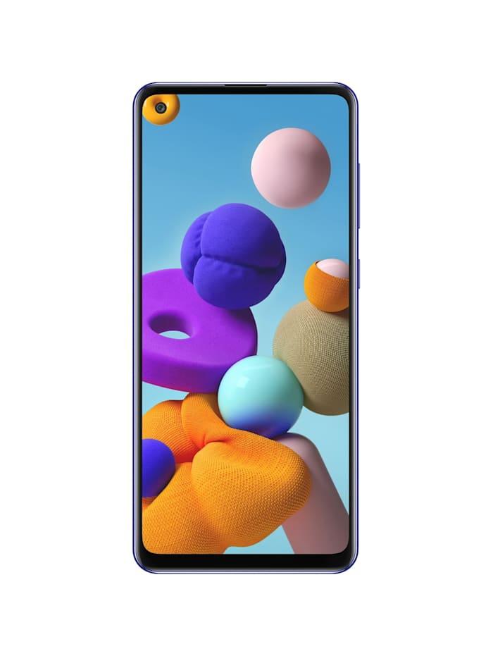 Samsung Handy Galaxy A21s 32GB, Blau