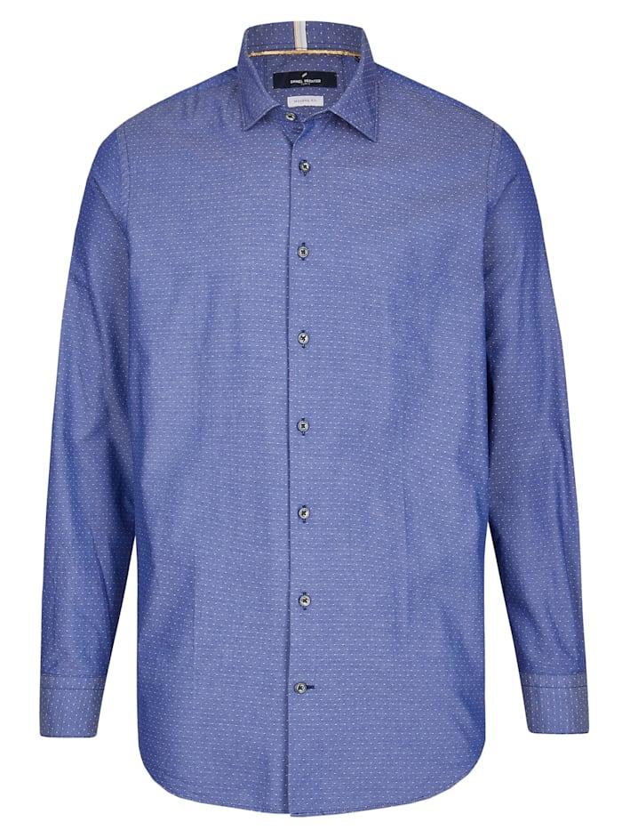 Daniel Hechter Businesshemd mit feinem Punkt-Muster, dark blue