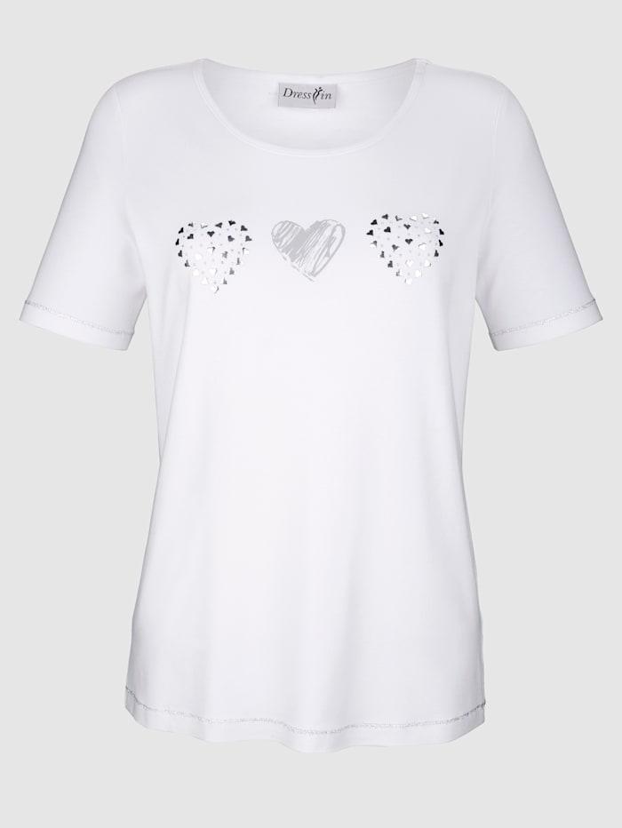 Shirt mit Herzen