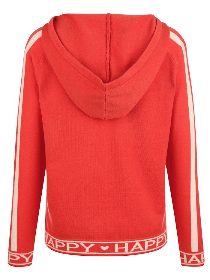 Pullover mit Kapuze und Tunnelzug