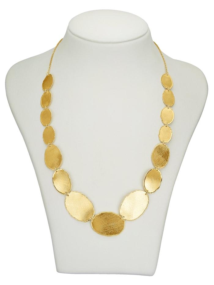 Collier in Silber 925, vergoldet