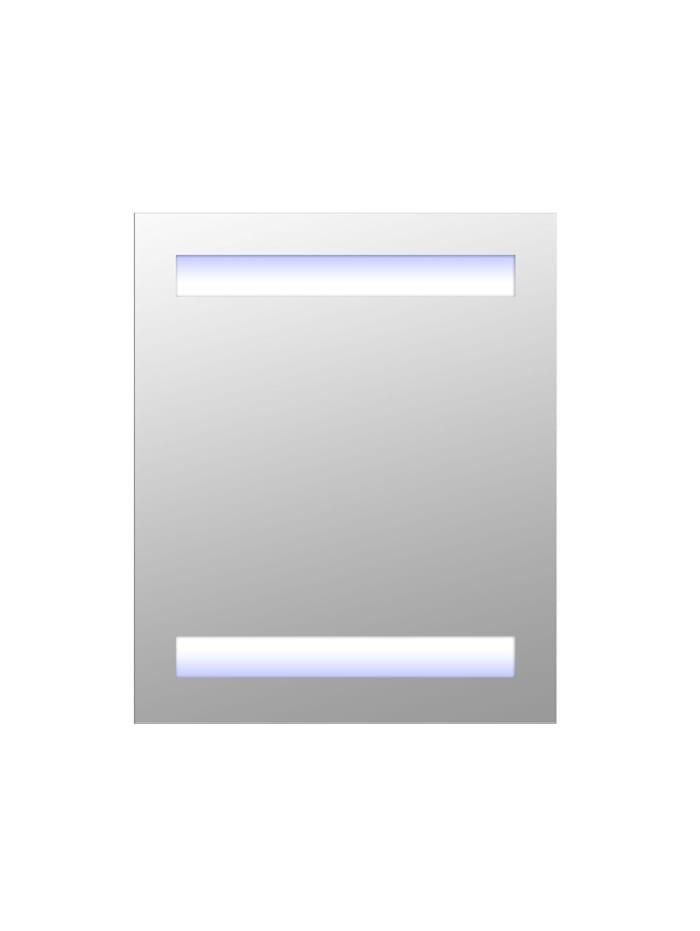 HOMCOM LED Spiegelschrank, weiß