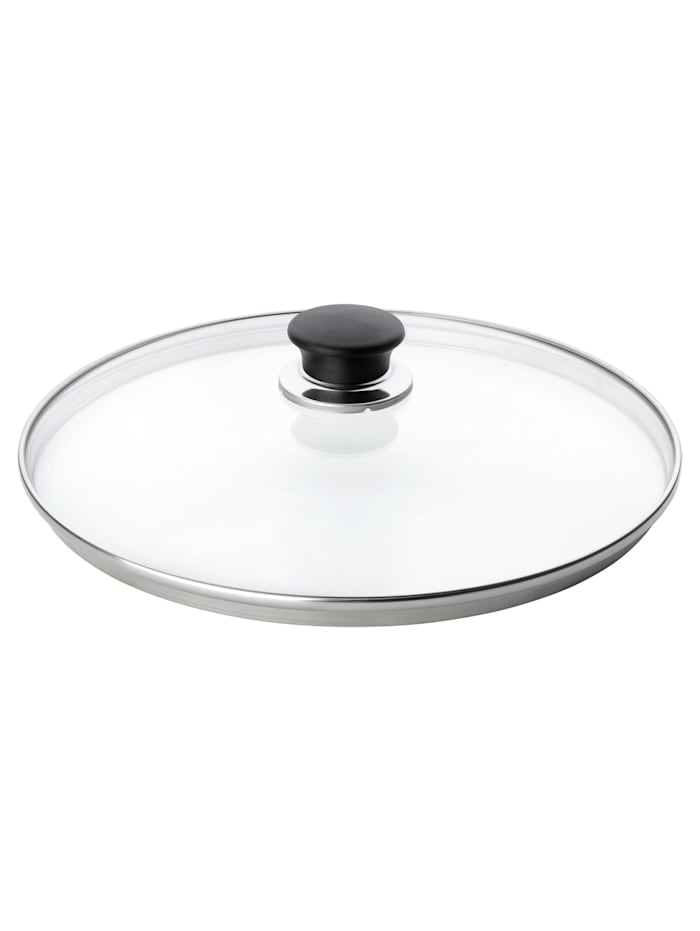 Ballarini Glasdeckel Dingerkus, Transparent, Silber