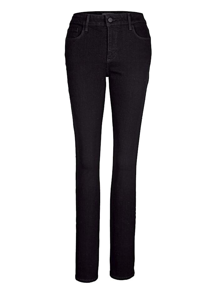 NYDJ Jeans met LIFT&TUCK technologie, Zwart