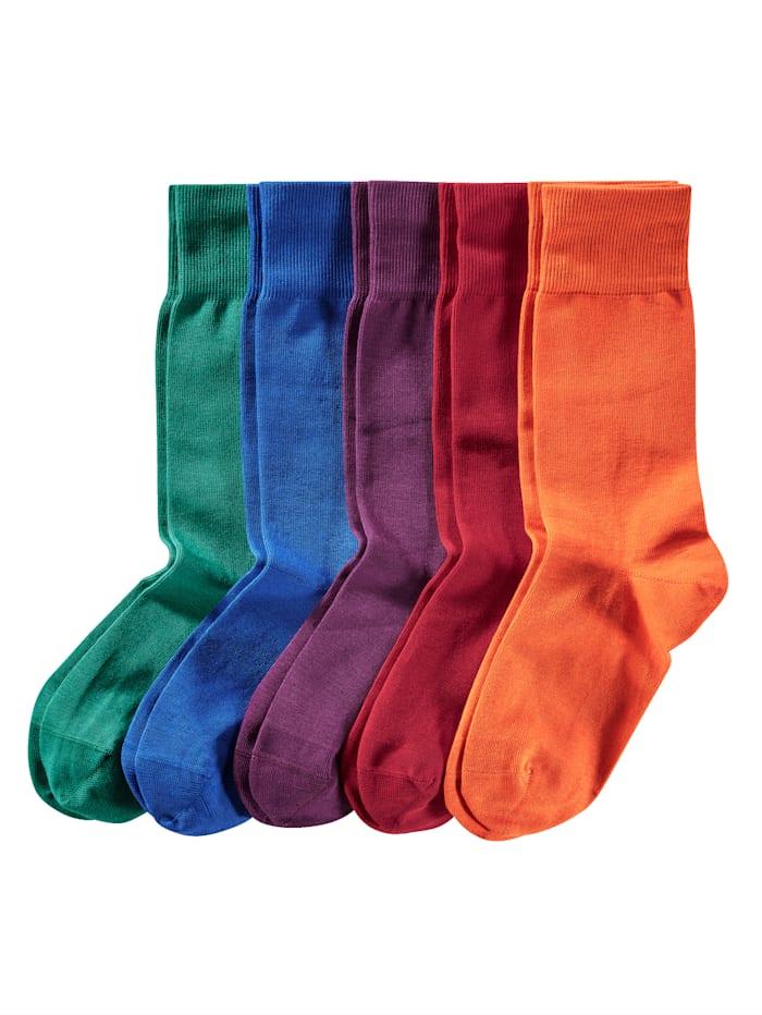 BABISTA Sokken in frisse kleuren, Rood