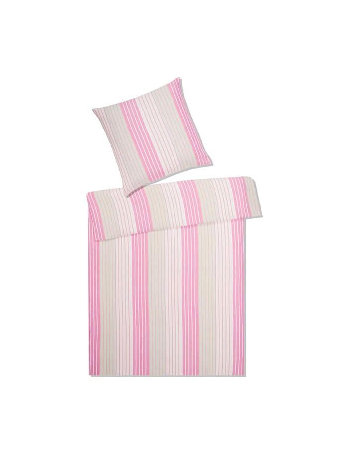 Elegante Leinen Bettwäsche Spirit puder-pink, puder-pink