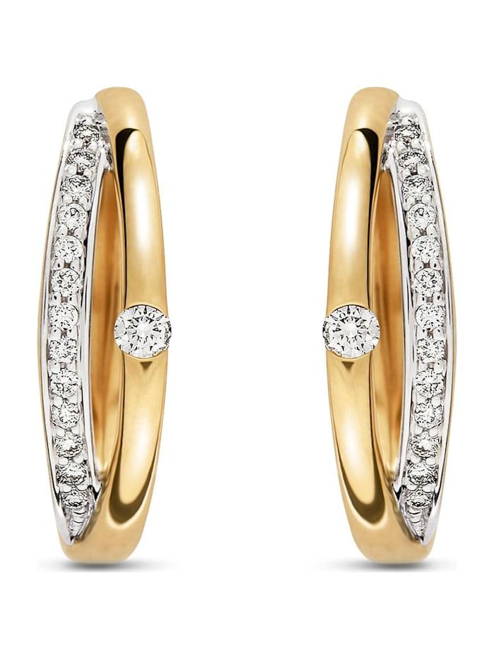 CHRIST Diamonds CHRIST Diamonds Damen Creolen 585er Gelbgold