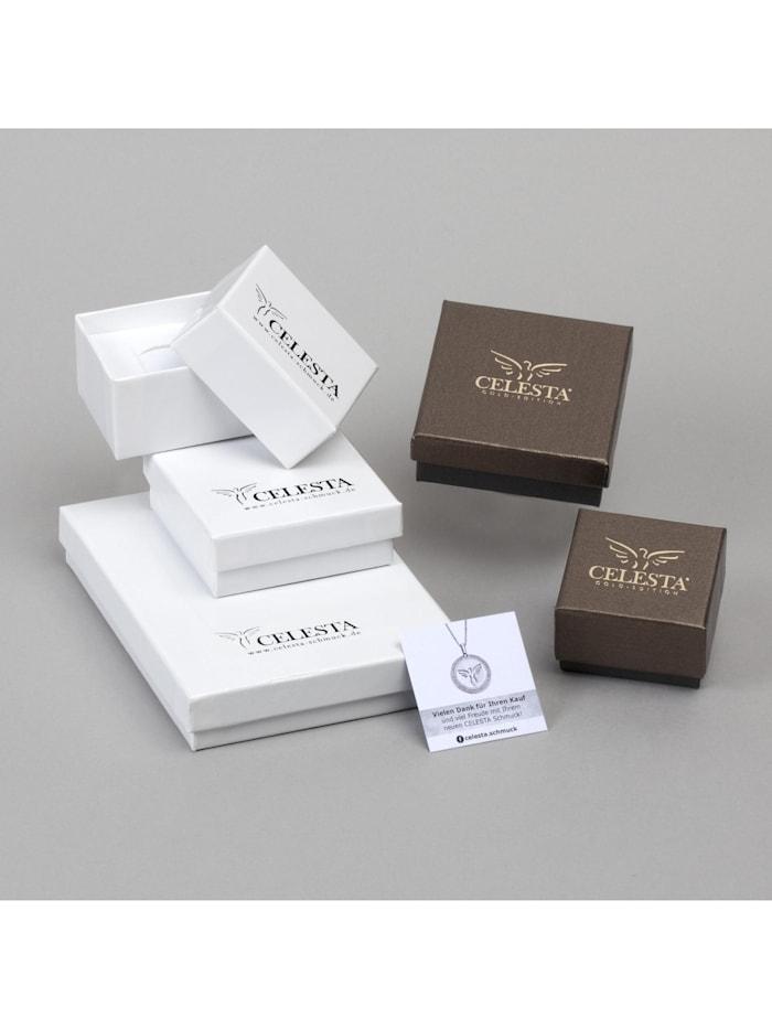 Creolen 333/- Gold 1,8cm Diamantiert 333/- Gold