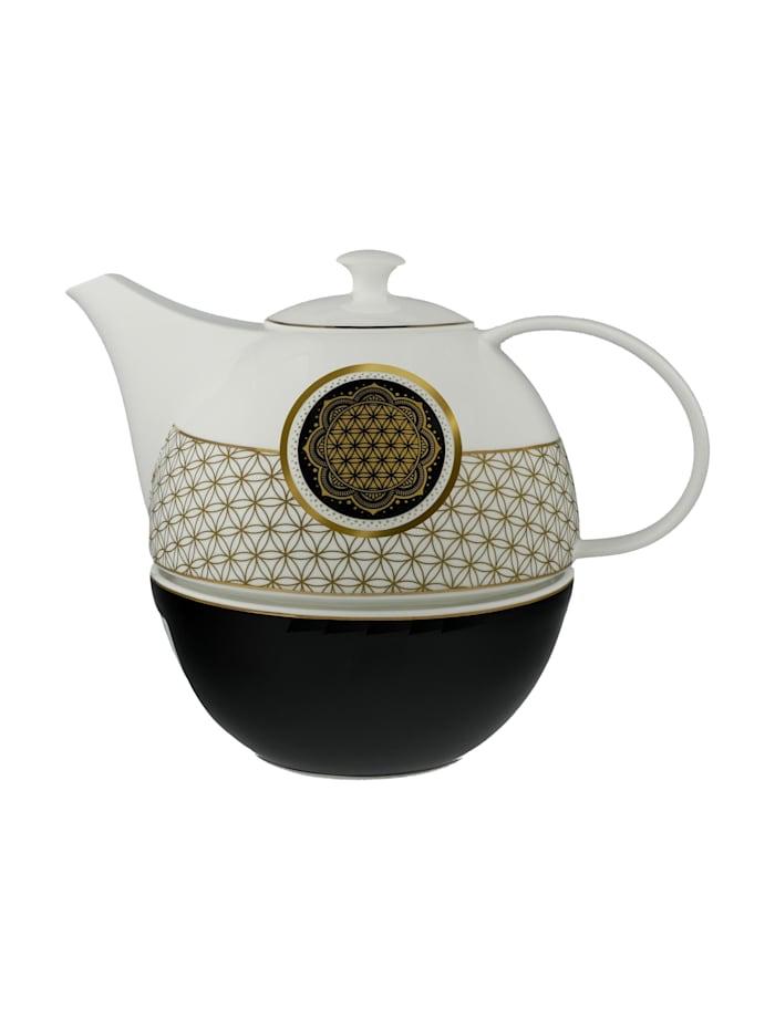 Goebel Goebel Teekanne mit Stövchen Blume des Lebens, Blume des Lebens