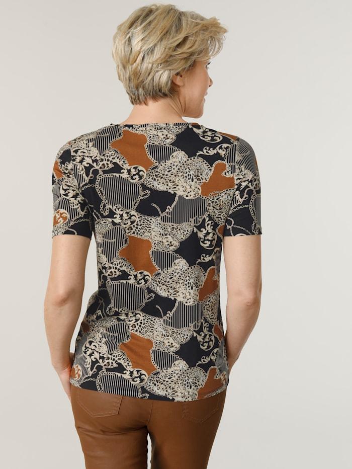 Shirt met exclusieve dessinmix