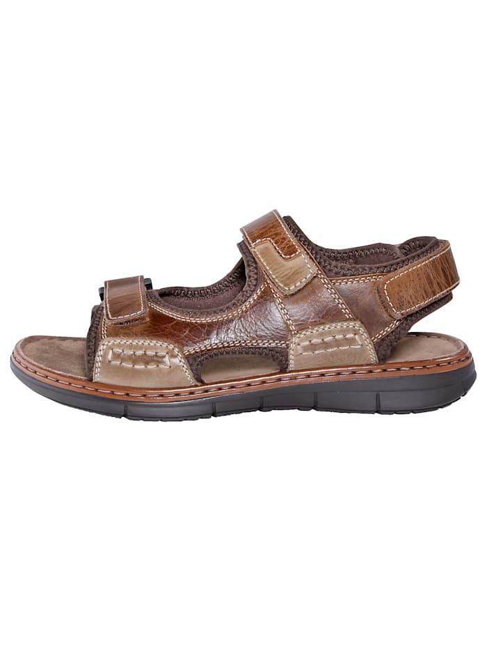 Sandale mit praktischen Klettriegeln