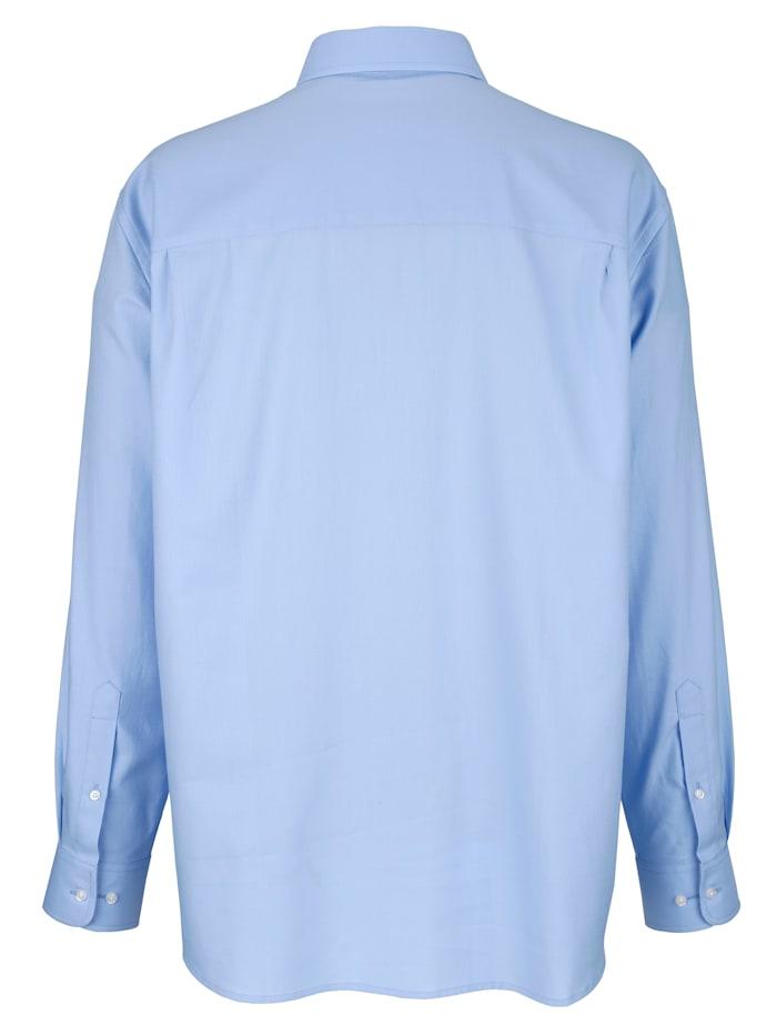 Overhemd van strijkvrij materiaal