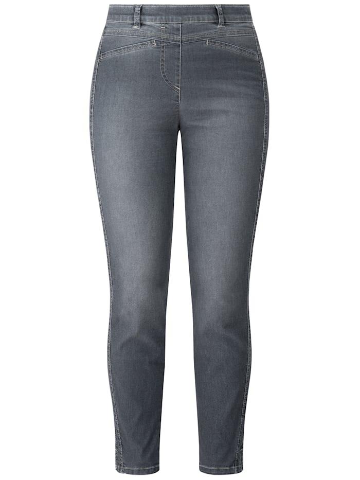 RECOVER Pants Denim-Jogpants, grau