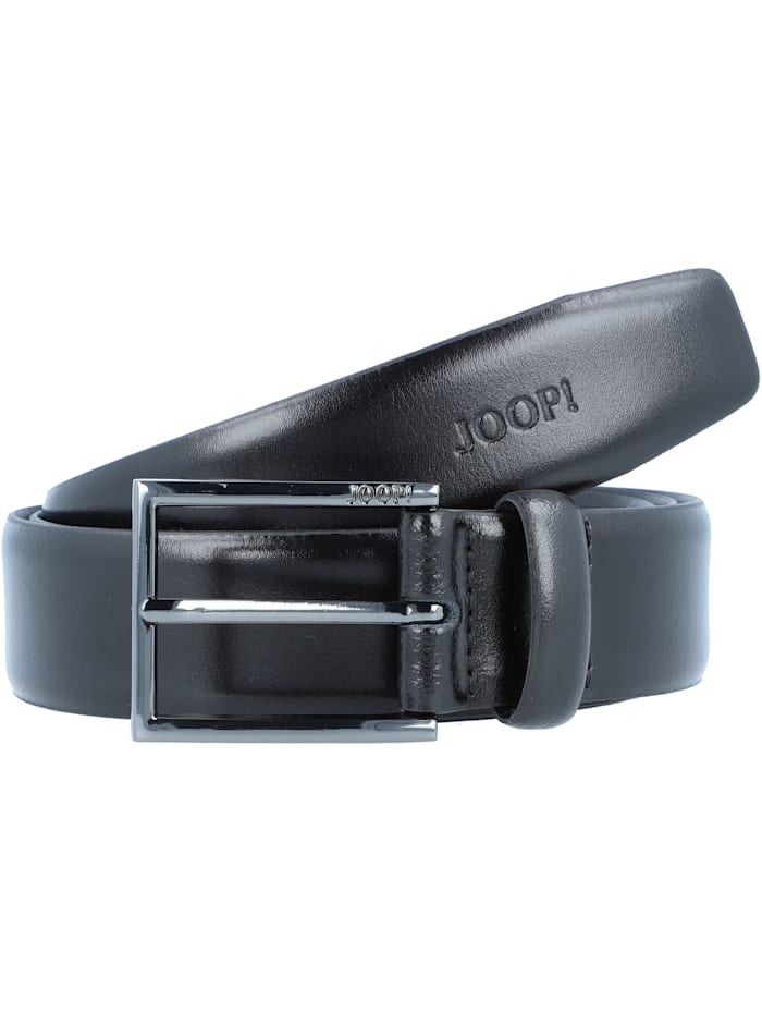 JOOP! Coll.Belt Gürtel Leder, black
