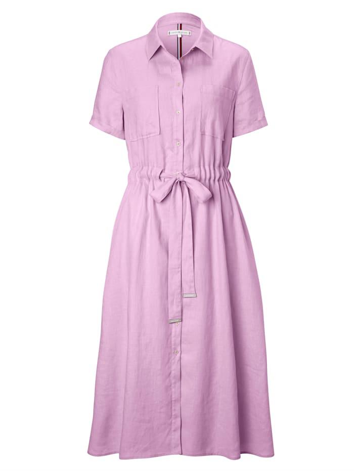 TOMMY HILFIGER Kleid, Rosé