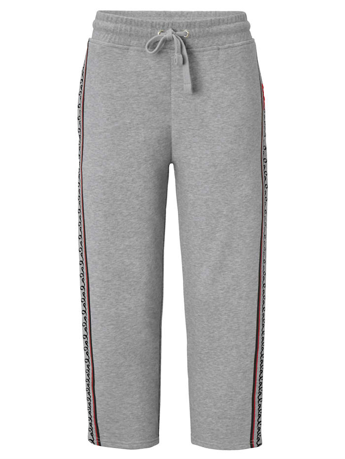 Lala Berlin Trackingpants, Grau