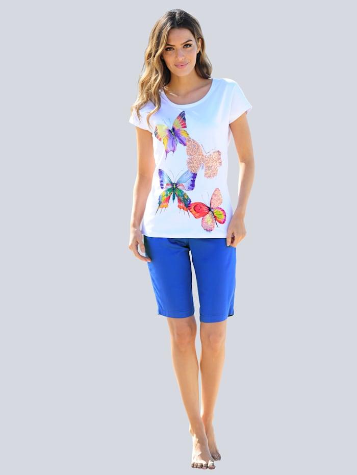 Strandshirt mit Glitzer
