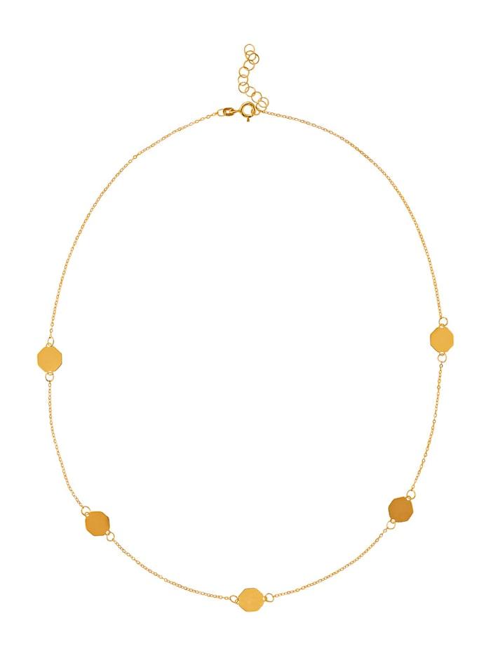 Collier in Gelbgold 333, Gelbgoldfarben