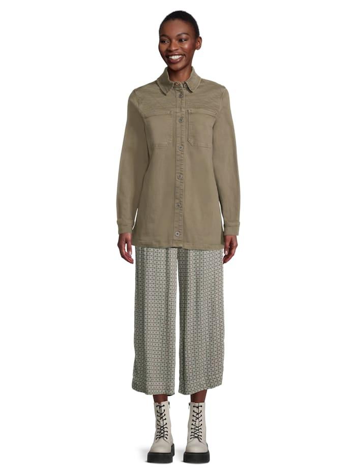Casual-Bluse langarm Design