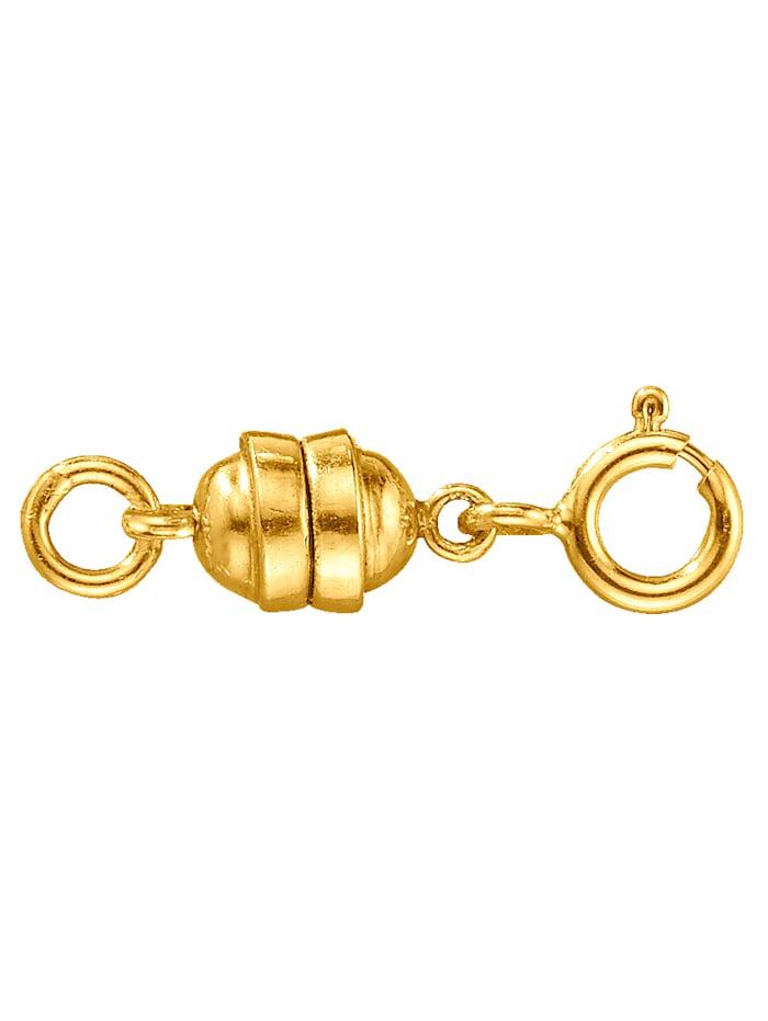 KLiNGEL Verlängerungskettchen mit Federring und Magnetschließe, Gelb