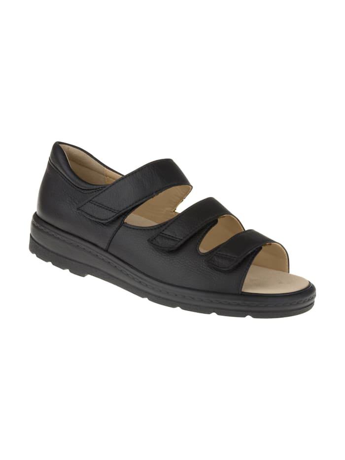 Natural feet Sandalen Casablanca, schwarz