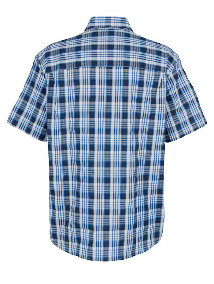 Skjorte med vevd rutemønster