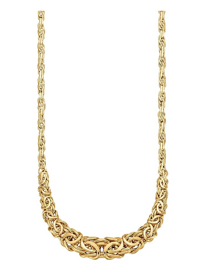 Halsband, kejsarlänk, Guldfärgad