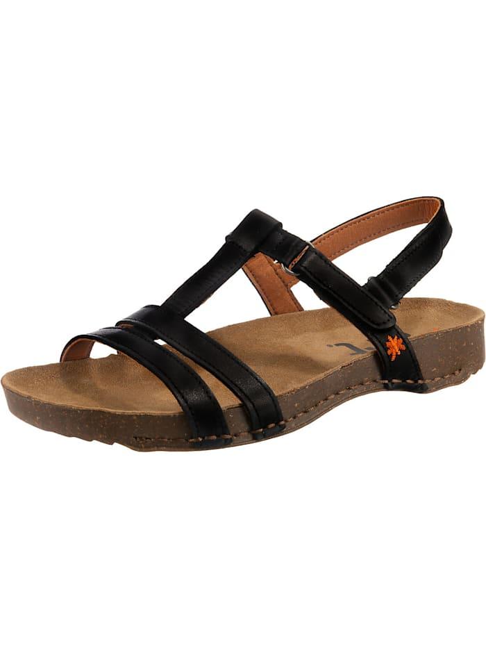 *art Klassische Sandalen, schwarz