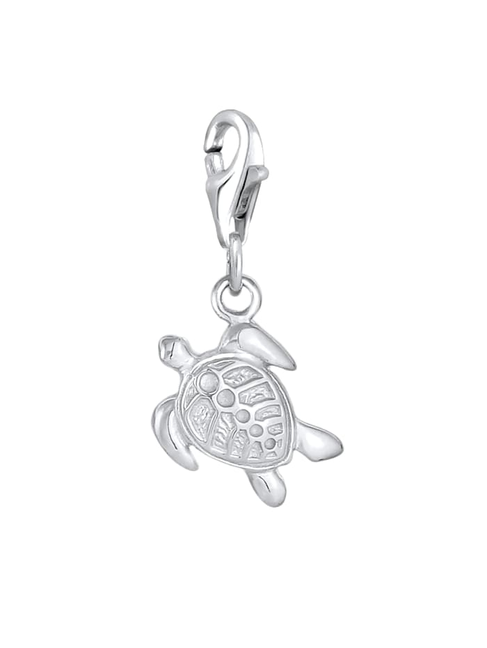 Charm Anhänger Schildkröte Tier 925 Silber