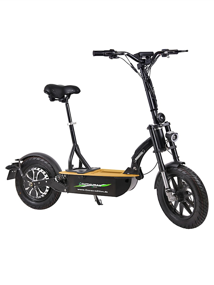 "FORCA DIDI THURAU EDITION Elektroroller ""Eco-Tourer Speed"" 45 km/h, Basic, schwarz"