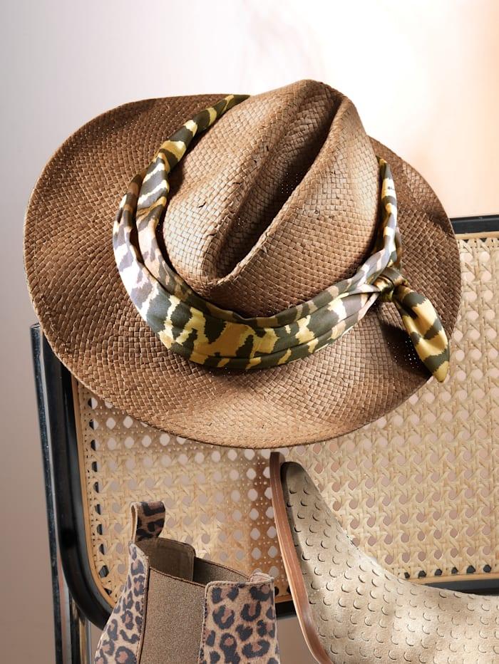 Hut mit Textilband