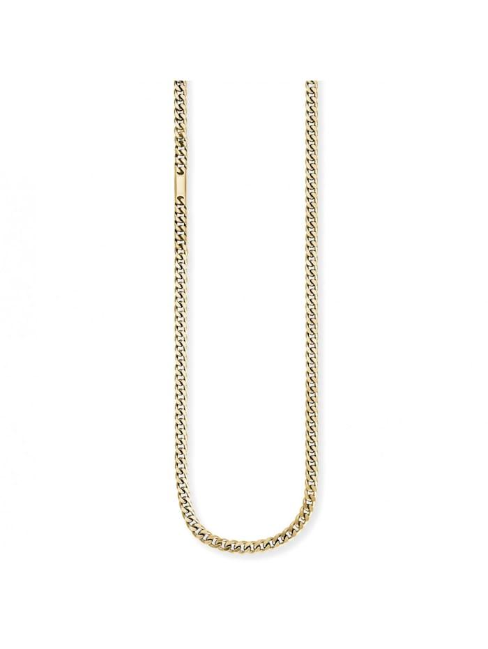 CAI Collier 925/- Sterling Silber ohne Stein 55cm Glänzend, gelb