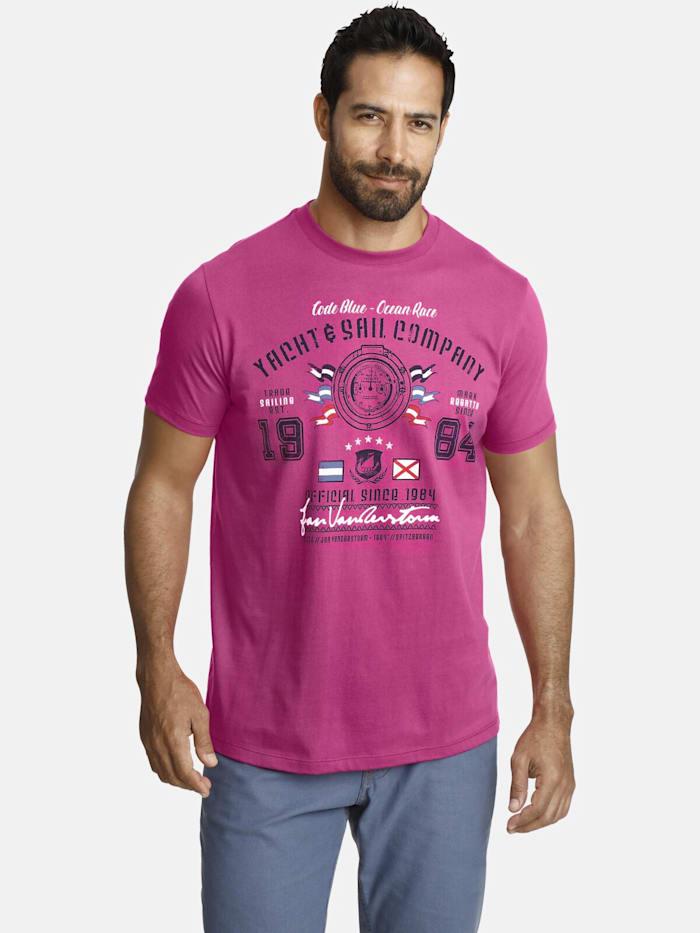 Jan Vanderstorm Jan Vanderstorm T-Shirt ANCKER, rot