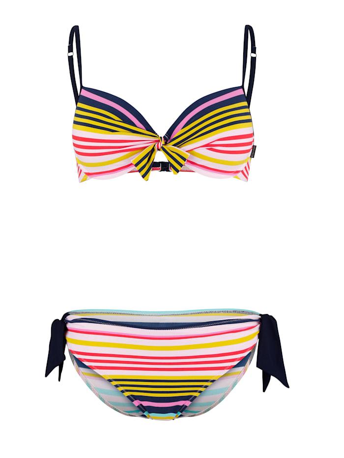 Rosa Faia Bikini met sierstrikje, Geel