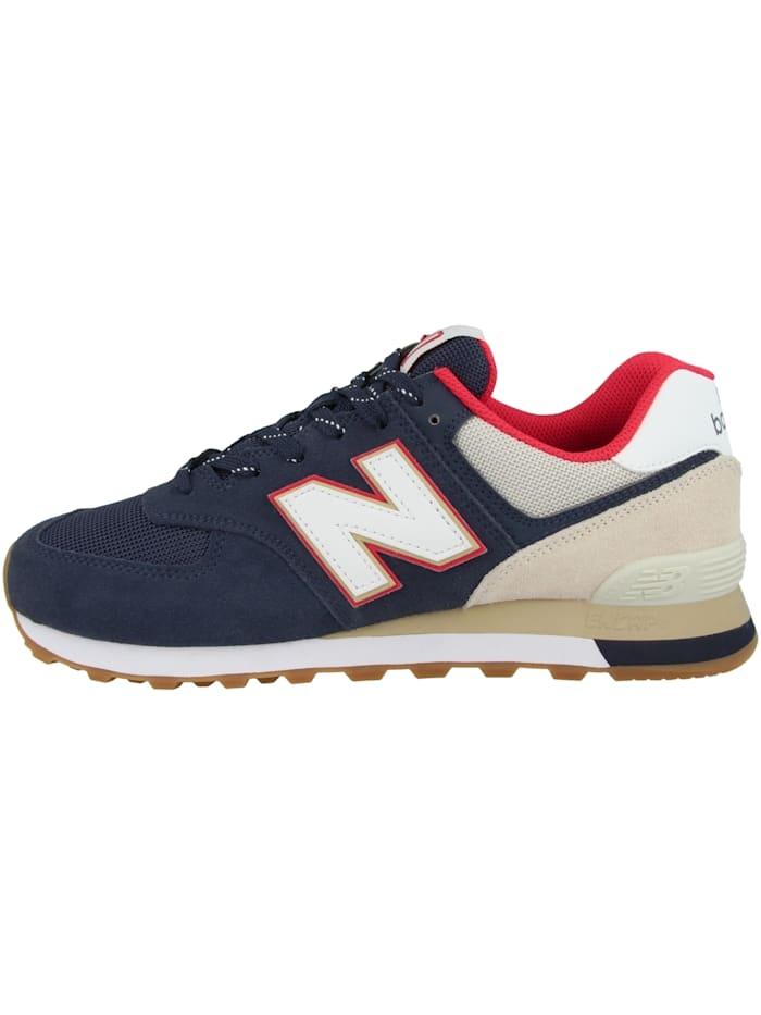 New Balance Sneaker low ML 574, blau