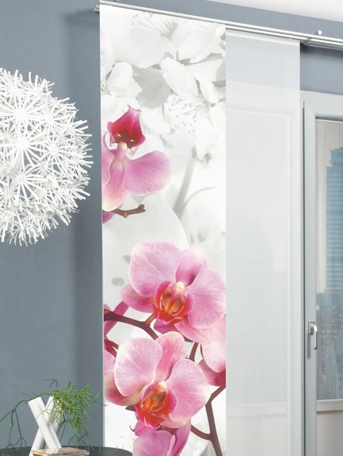 Home Wohnideen Paneelgordijn Blossom, roze