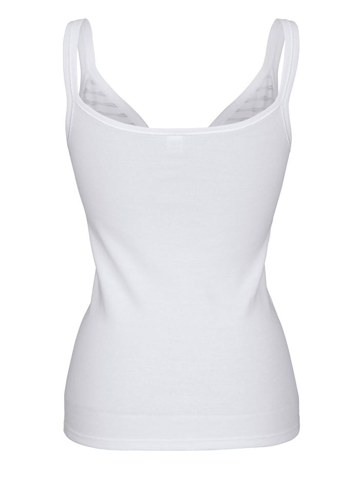 BH-Hemden im 2er-Pack mit geschmücktem Büstenteil