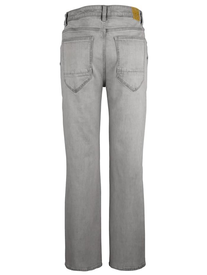 Jeans mit extra Taschen an den Seiten