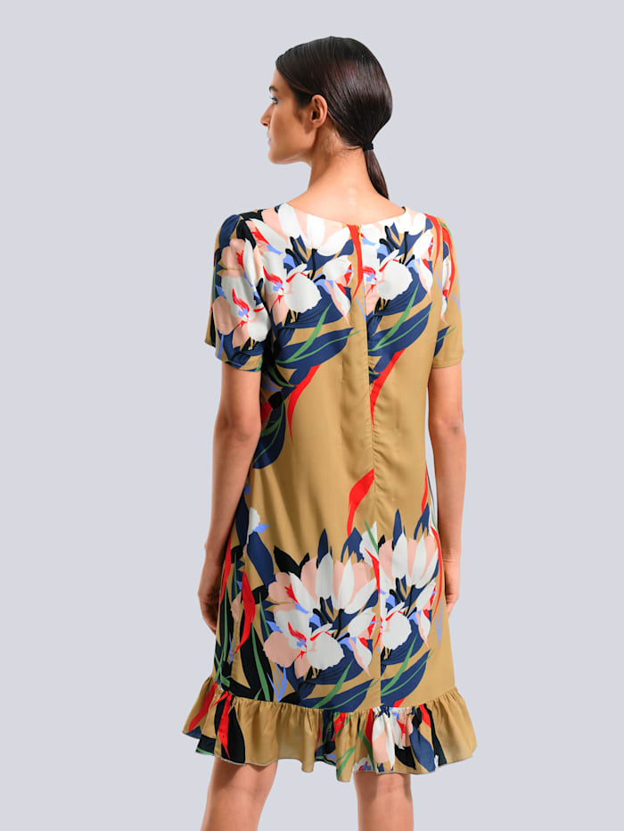 Kleid mit Floralem-Dessin