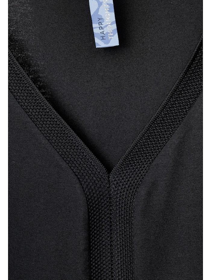 Shirt mit Ripp-Details