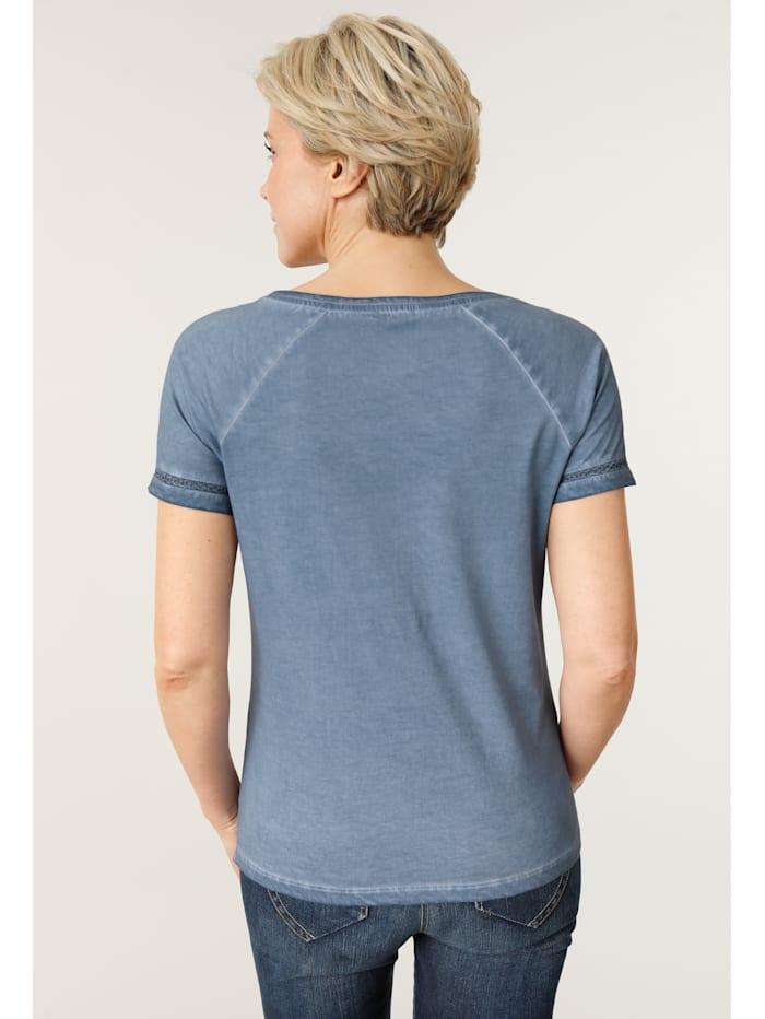 Shirt mit attraktiver Häkelspitze