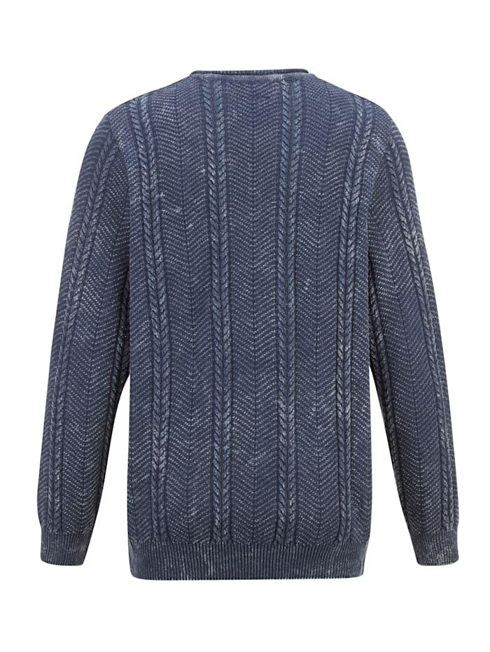 Pullover in Used-Optik