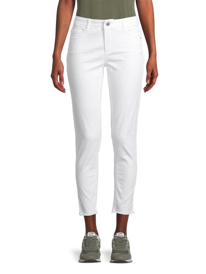 Cartoon Modern fit jeans Slim Fit Fransen, Weiß