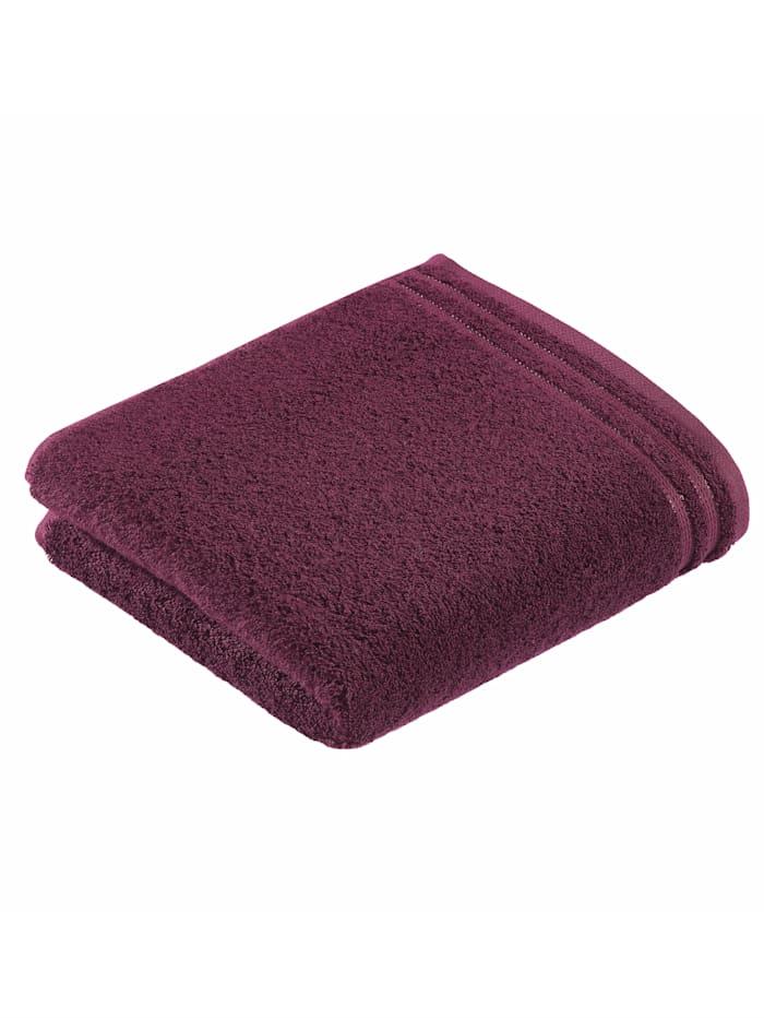 Vossen Handdoekenset effen, berry