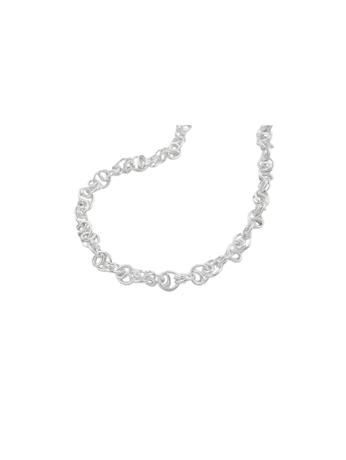 Armband 3,8mm Scrollmuster Silber 925 19cm