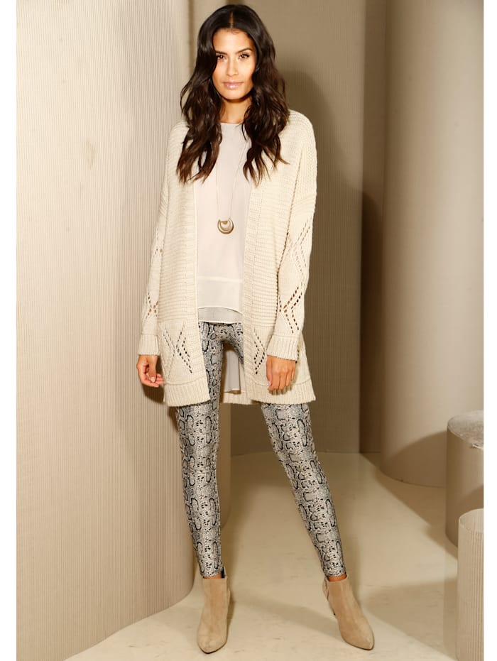Leggings in Schlangenprint